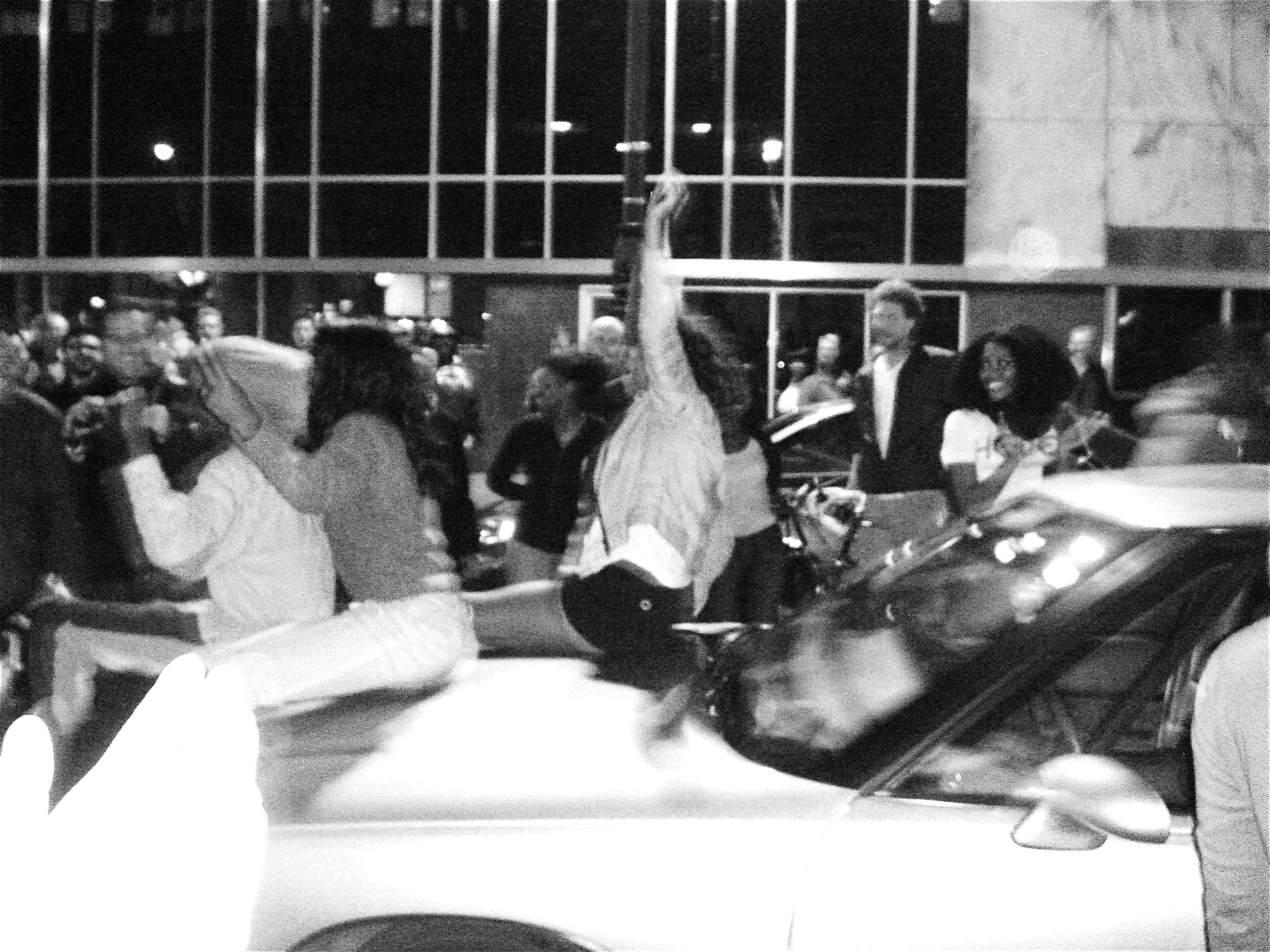 A Collective Exhale - Moments After - Election Night Philadelphia