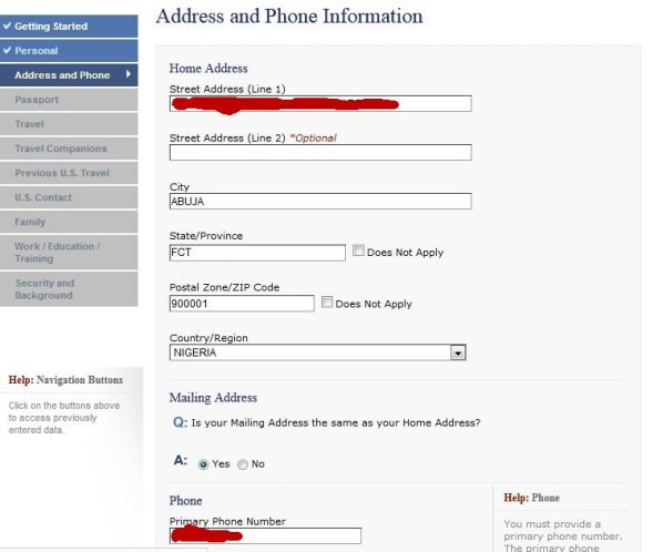 How to Fill the U S DS160 Visa Application Form (WITH