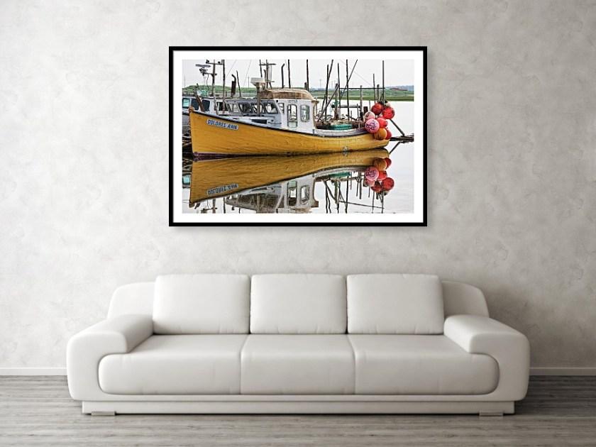 Old fishing boat in Nova Scotia