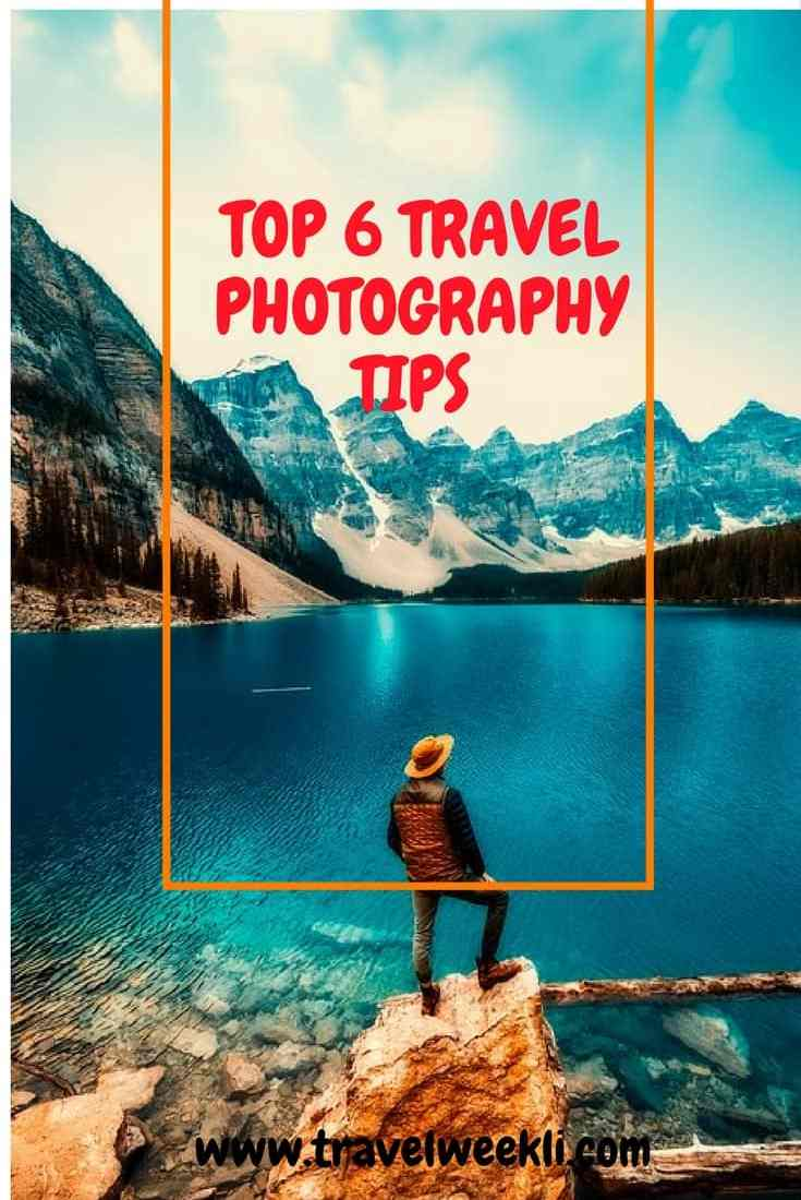 6 easy tips for creating attractive travel photos!