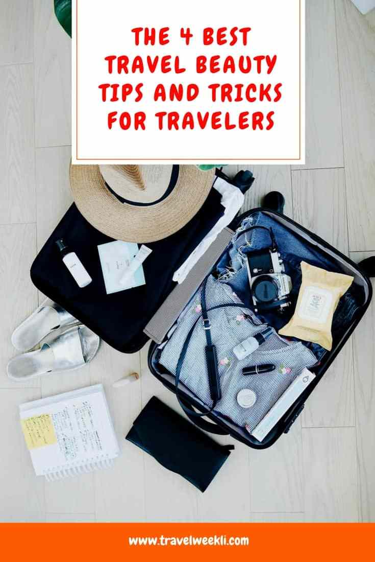 The 4 Best Travel Beauty Tips and Tricks For Travelers
