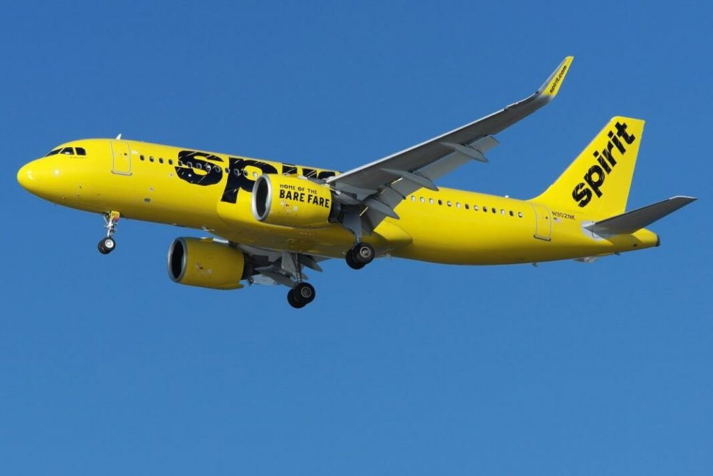 Spirit Airlines flies to Tampa and Fort Myers, Florida from Louisville