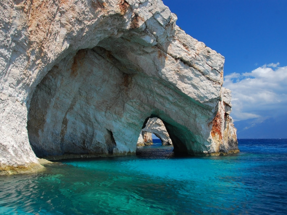 Blue Caves, Greece - Amazing Tourist Destinations
