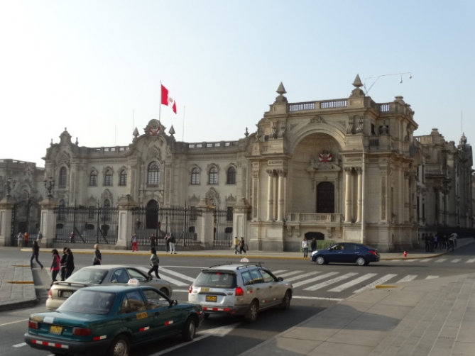 Government Palace, Lima