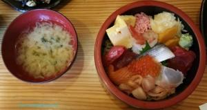 chirashi-miso-soup