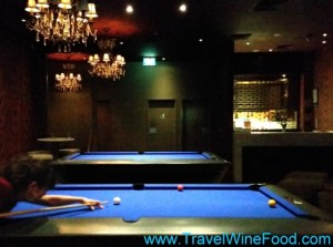 Sanctuary Hotel Sydney Pool Tables and Asian Hangout