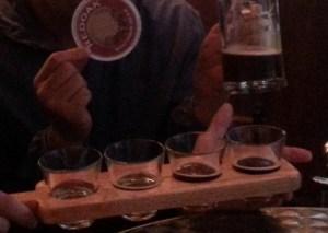 Craft Beer Tasting Paddles at Redoak