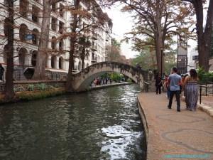 San Antonio River Walk Texas USA