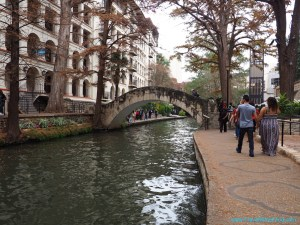 San Antonio River Walk Texas USA