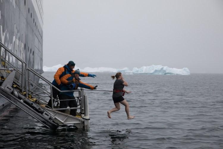 Polar Plunge ~ Antarctica