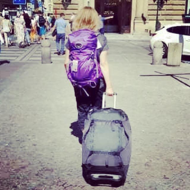 Leaving Prague