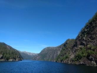 Bergen Fjords..