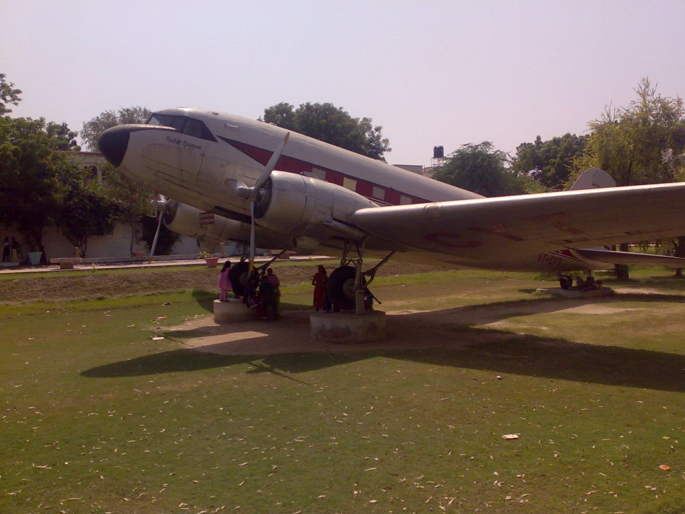 The first Aircraft owned by G.D.Birla, Museum Complex, BITS,Pilani, India