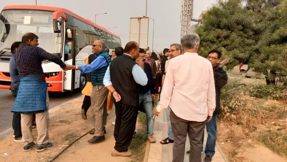 Bus journey from Delhi to Pilani