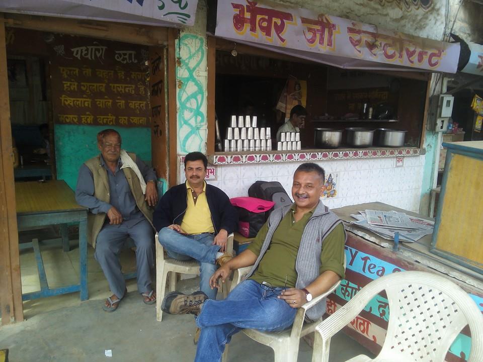 Nutan bus stand, Pilani, India