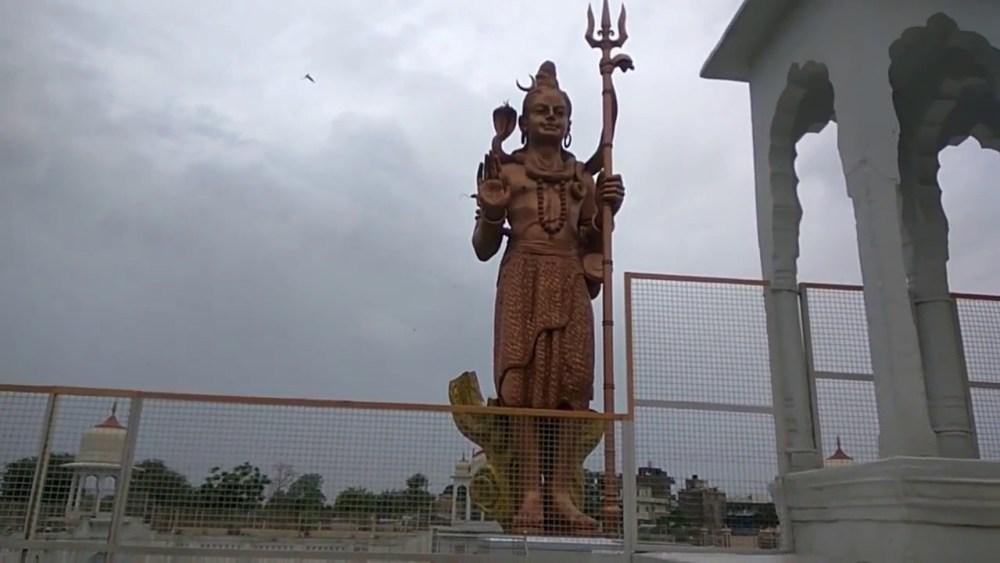 Shiva statue, Pilani, India