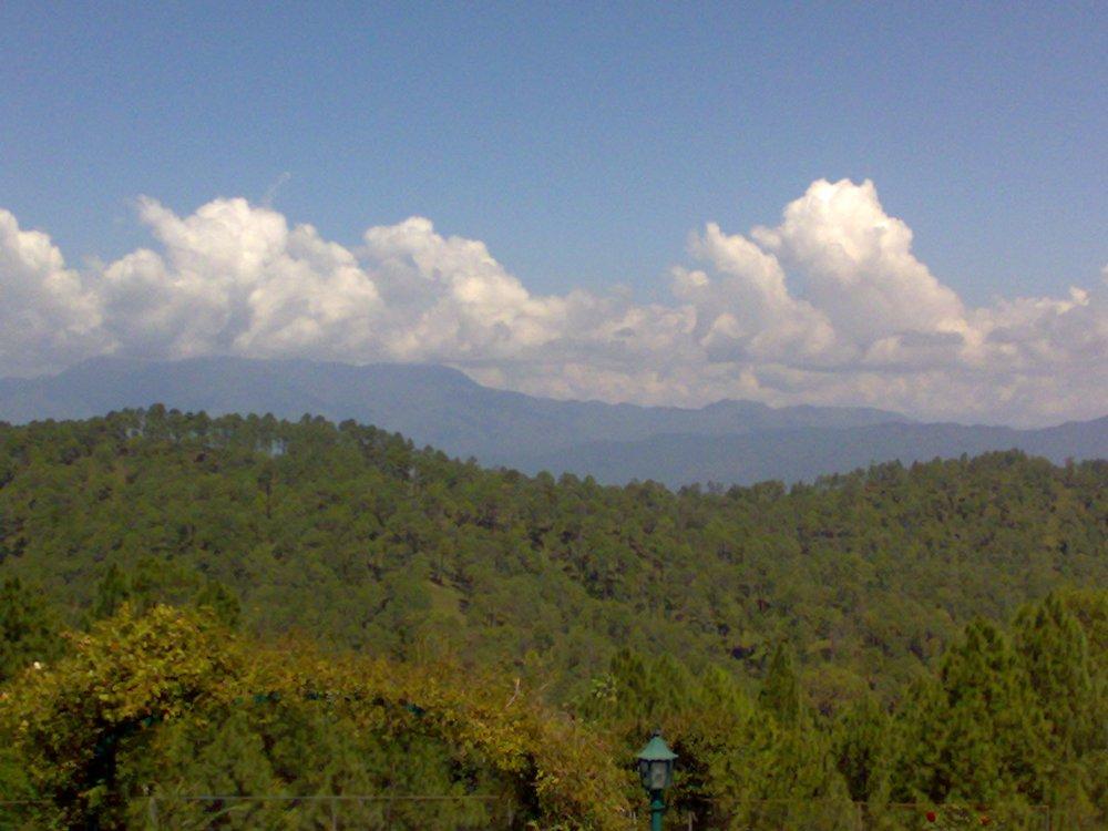 Ranikhet ,Uttarakhand, India. The hill station known as Queen's land. Overnight journey from Delhi