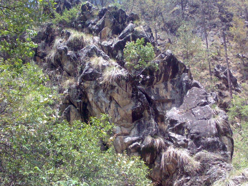 Rudradhari Cave Temple & Falls trek, Kausani, Uttarakhand, India