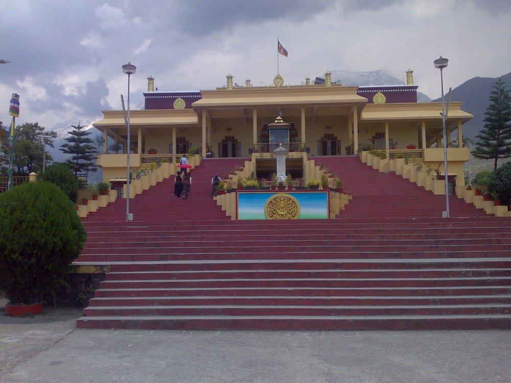 Dalai Lama Temple Complex, Dharamshala, Himachal, India