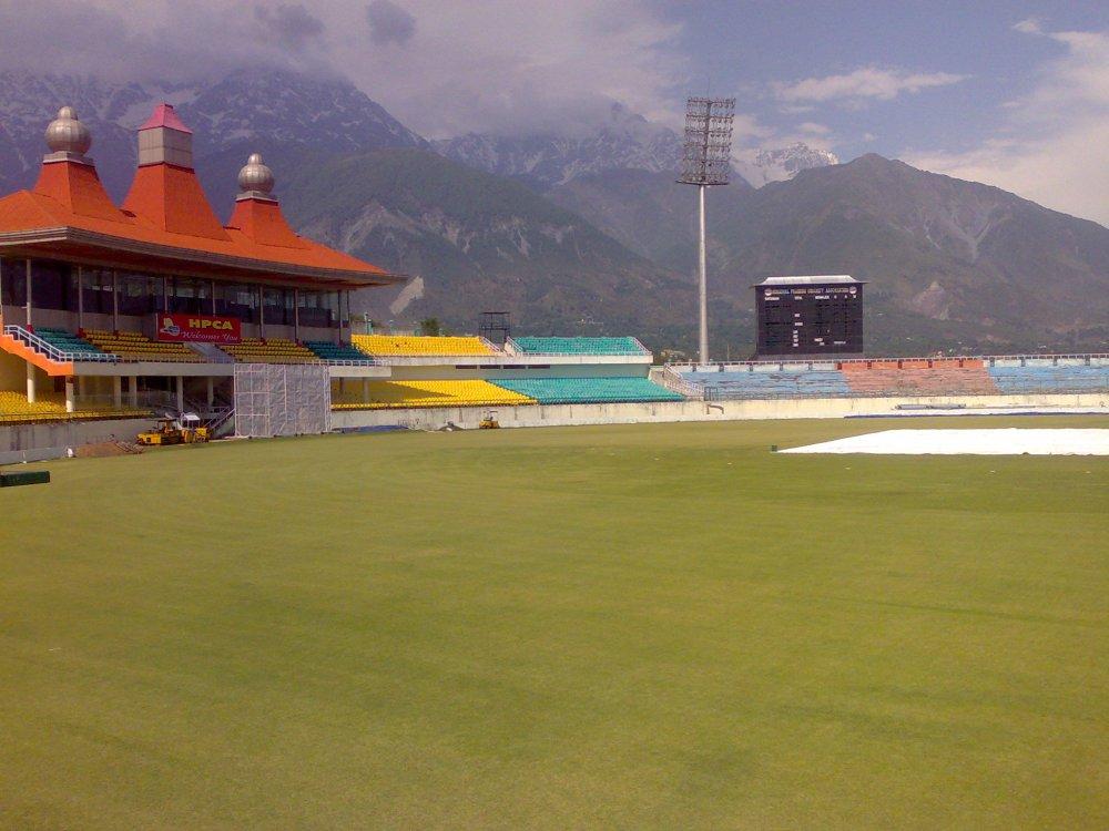 Dharamshala HPCA Stadium, Himachal Pradesh, India