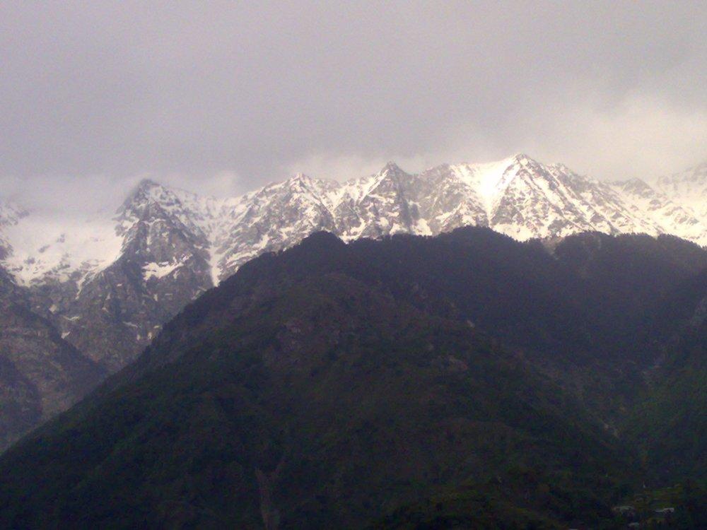 Dhauladhar Range, Dharamshala, Himachal, India