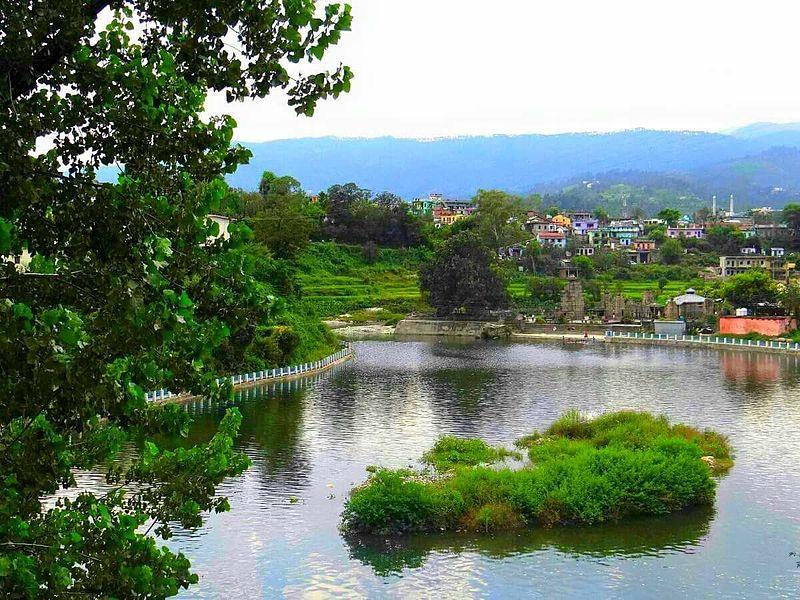 Baijnath Lake, Uttarakhand, India