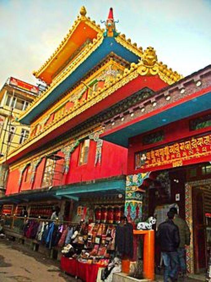Kalachakra Temple, Mcleodgang, India