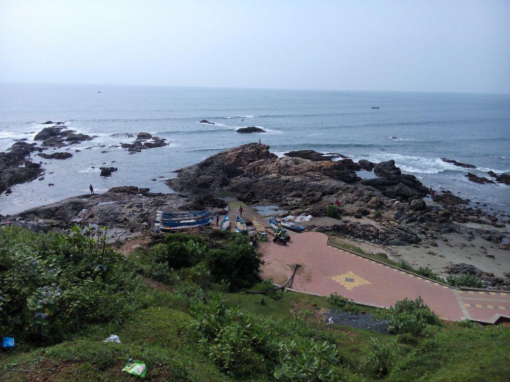 Vagator Beach, Goa, India. Goa is famous for it's beaches