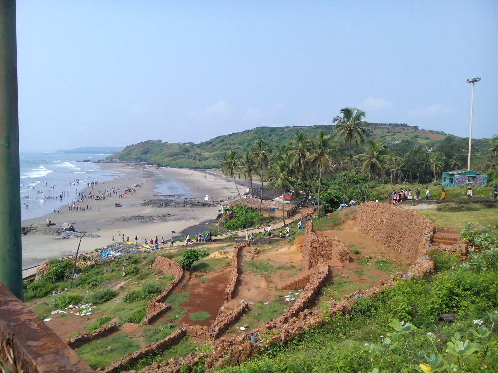Anjuma Beach, Goa, India. Goa is famous for it's beaches