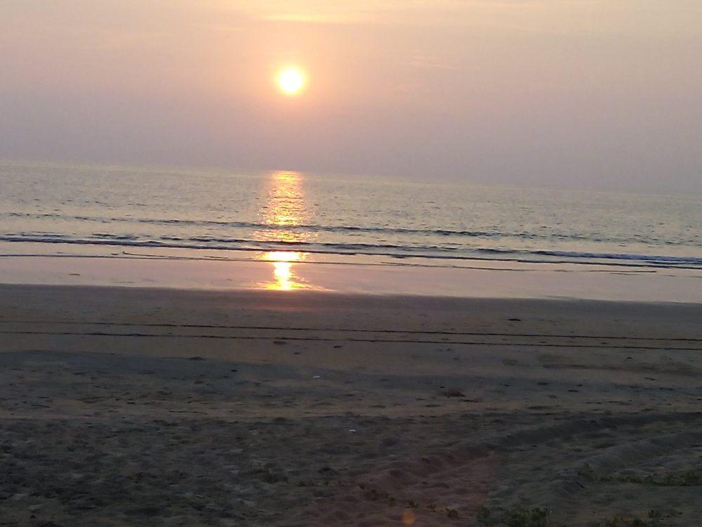 Benaulim Beach, Goa, India. Goa is famous for it's beaches