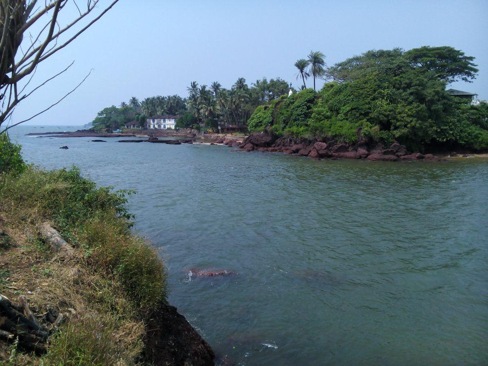 Dona Paula Statue, Goa, India, Views from top