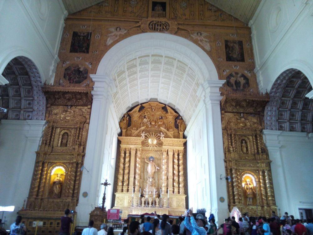 The Basilica of Bom Jesus, Goa, India