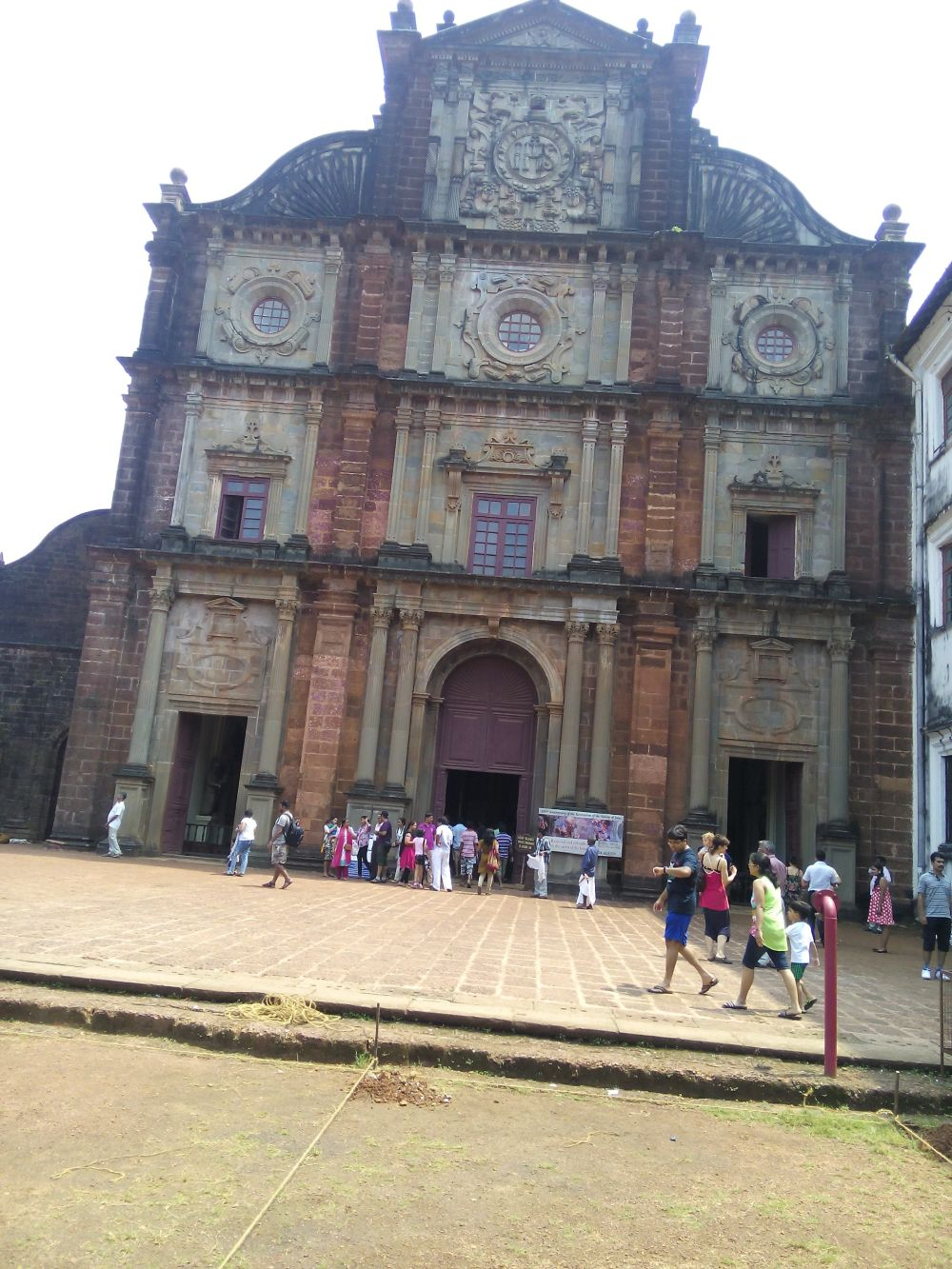 The Basilica of Bom Jesus, Goa, India