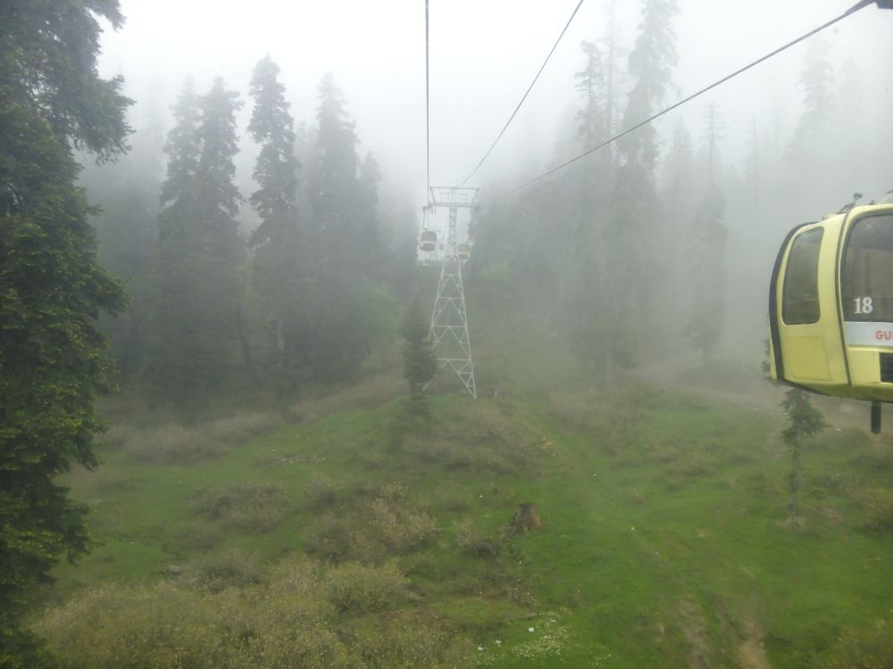 Gondola Ride, Gulmarg, Kashmir, India