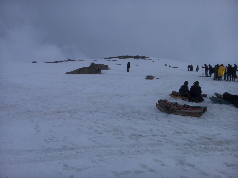 Mountain top, Gulmarg, Kashmir, India