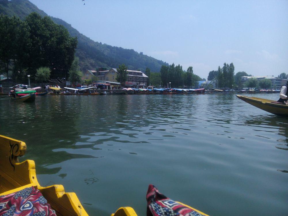Shikara ride, Dal Lake, Srinagar, Kashmir, India