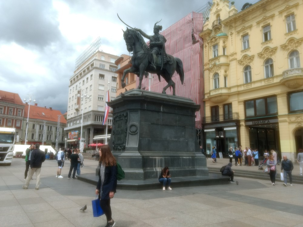Ban Jelacic Square, Zagreb, Craotia