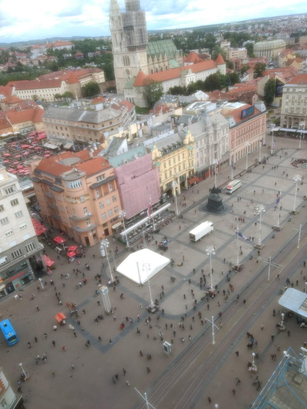 View from Zagreb 360°, Croatia