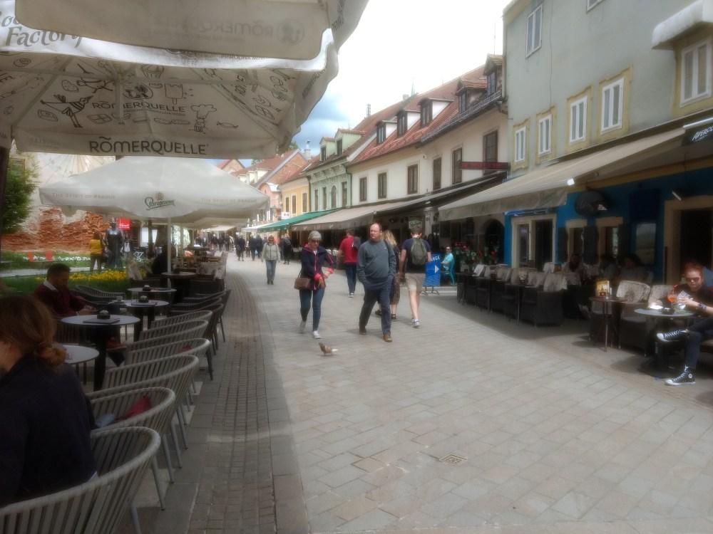 Food Street, Dolac Market, Zagreb, Croatia