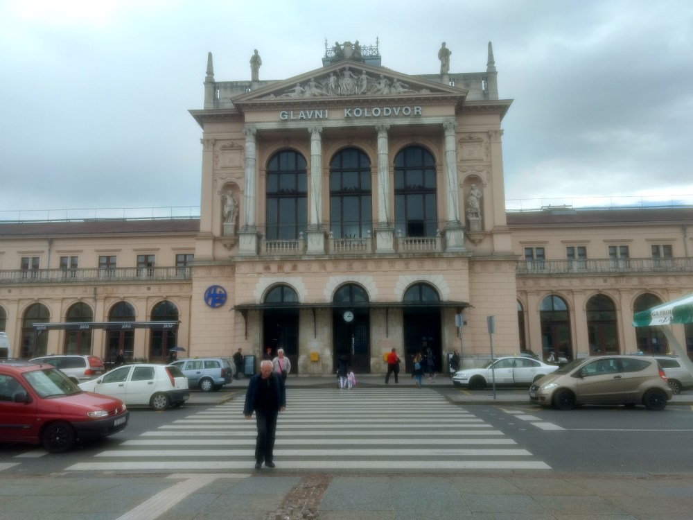 Zagreb Railway station, Croatia