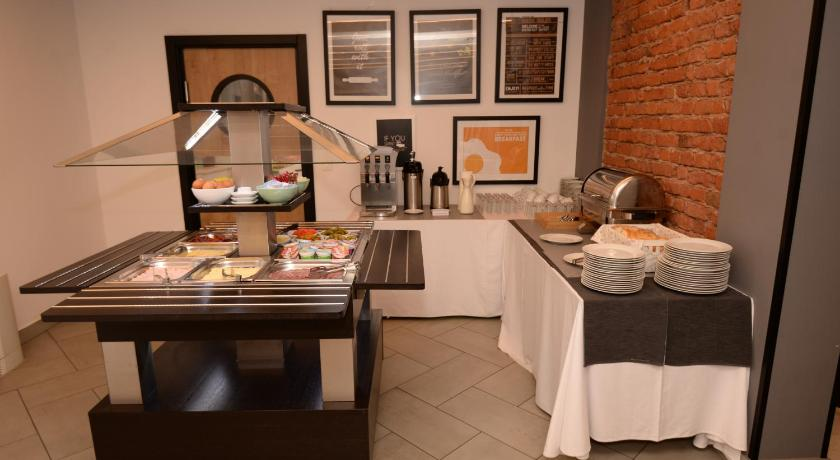 Breakfast at The Loop Hotel, Zagreb, Croatia
