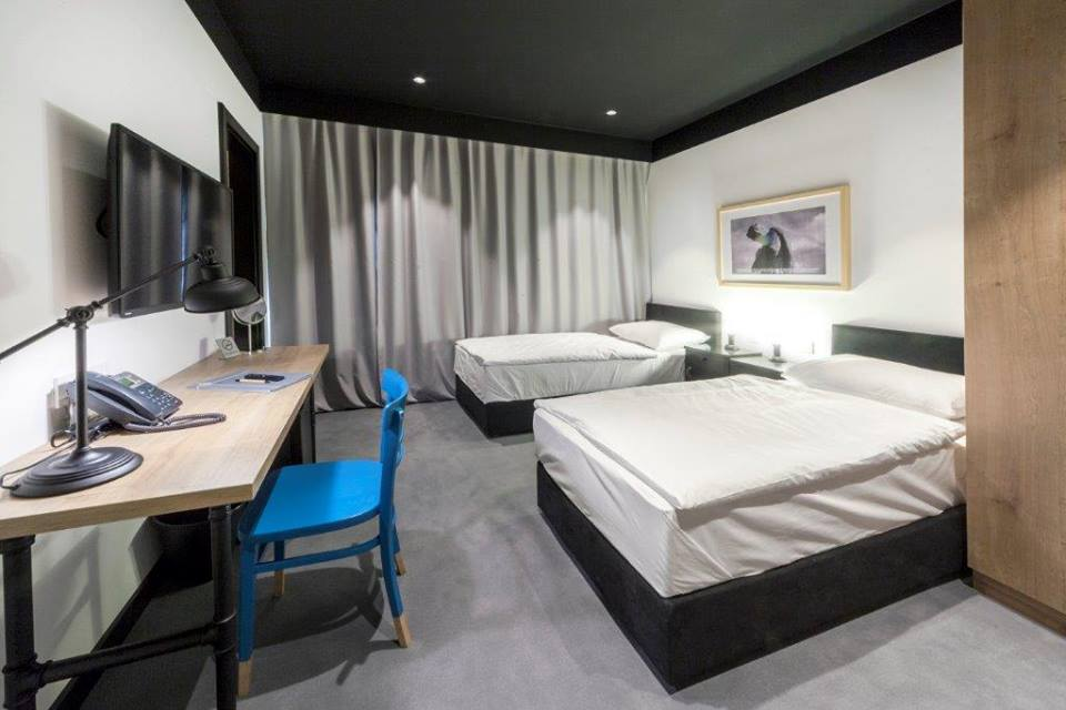 Room in The Loop Hotel, Zagreb, Croatia