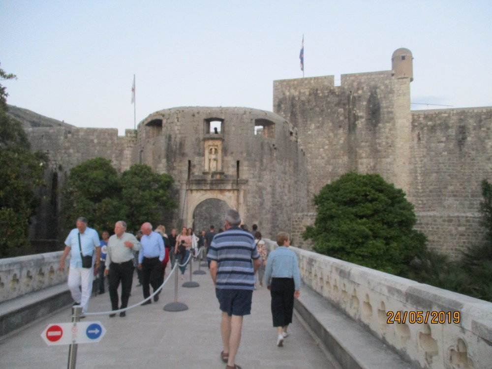 Pile Gate, Old Town, Dubrovnik, Croatia
