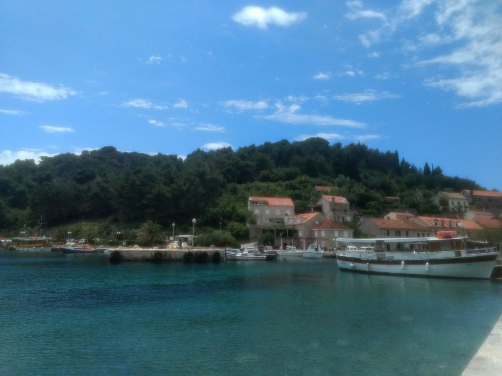 Sipan Island, Dubrovnik, Croatia