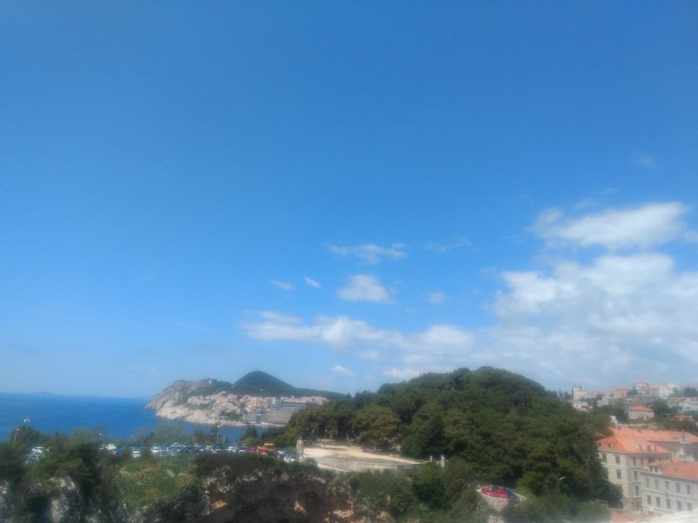 Views from Fort Lovrijenac, Old Town, Dubrovnik, Croatia