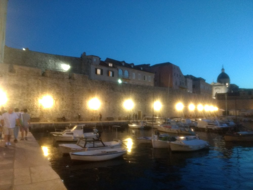 Old Town Port, Dubrovnik, Croatia