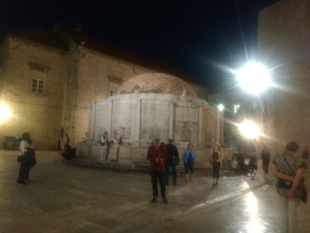 Big Onofrio's Fountain, Old Town, Dubrovnik, Croatia