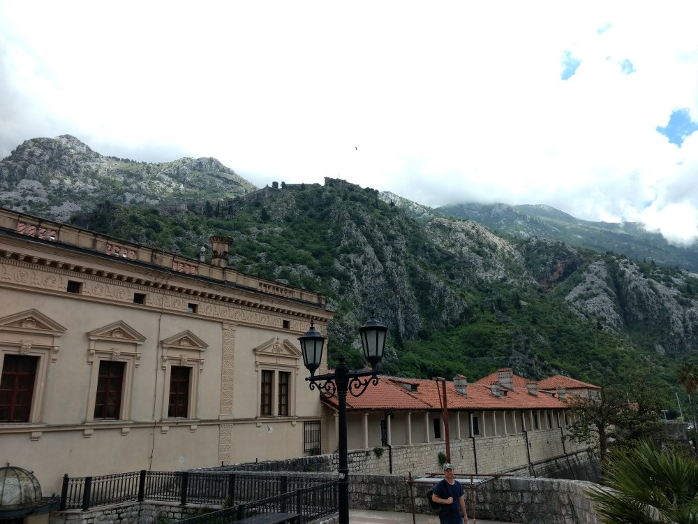 Views from Old Town wall, Kotor, Montenegro, Europe