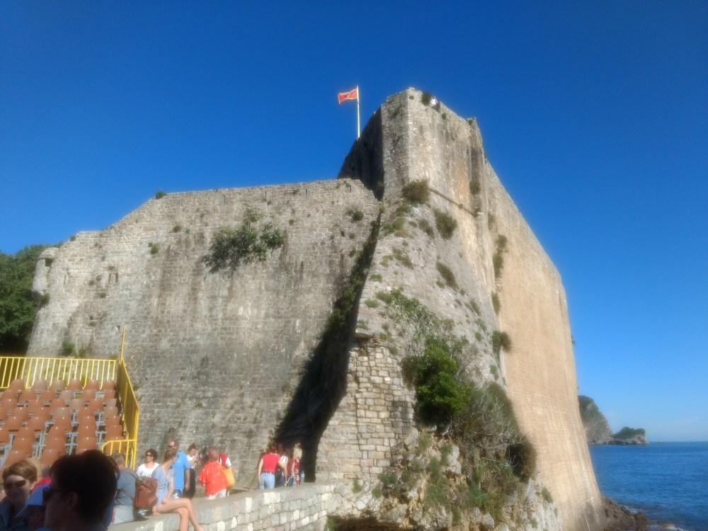 Budva Citadel, Old Town, Montenegro