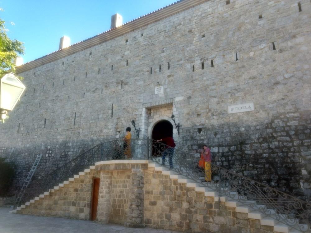 Budva Citadel, Old Town, Budva, Montenegro